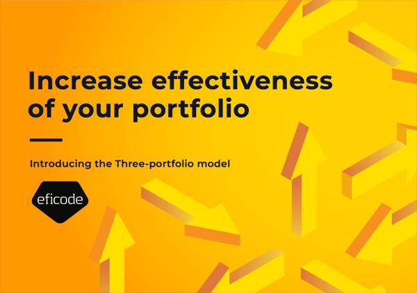 3 portfolio model cover page