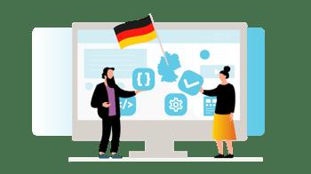 Benutzererfahrung und Barrierefreiheit, jawohl! - eli saavutettavuutta digitalisoituvassa Saksassa