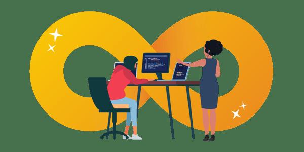 Application management transparent illustration
