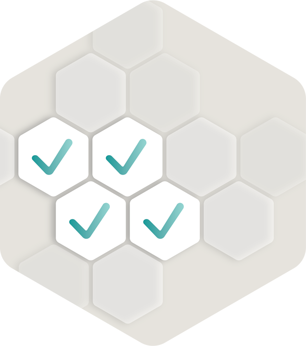 Gray Hexagons-37