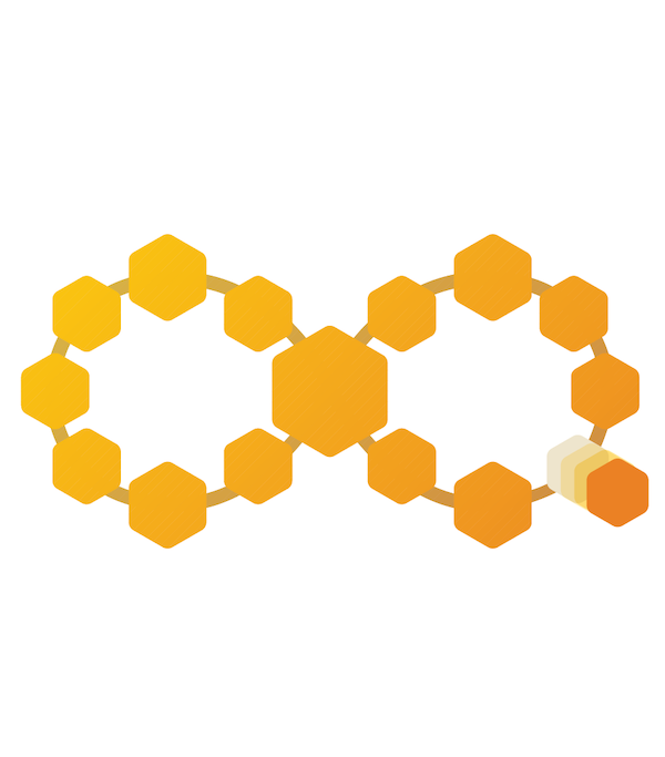 DevOps toolchains with hexagons