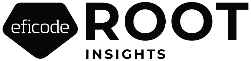 Root Logo Insights Transparent