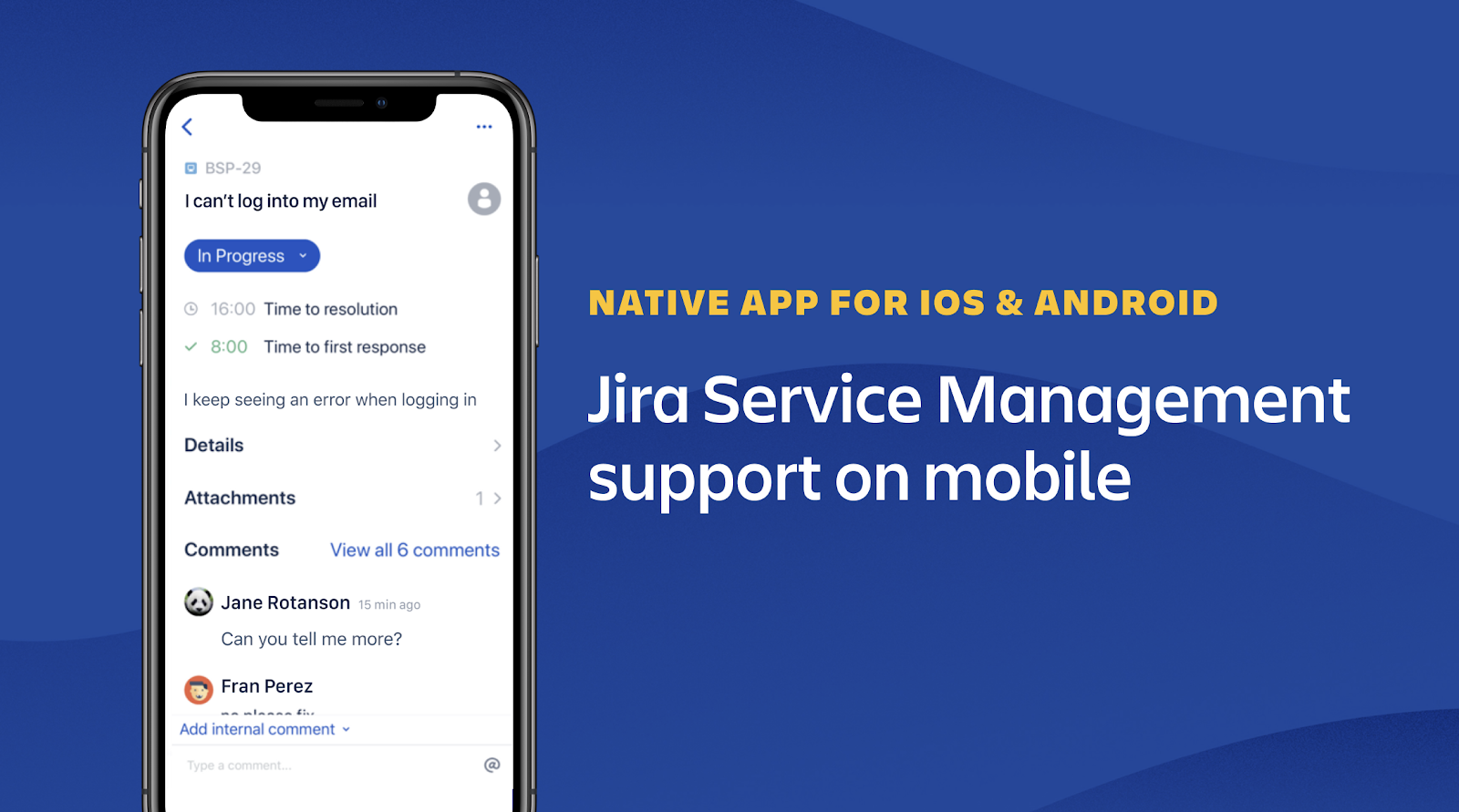 jira service management mobile atlassian