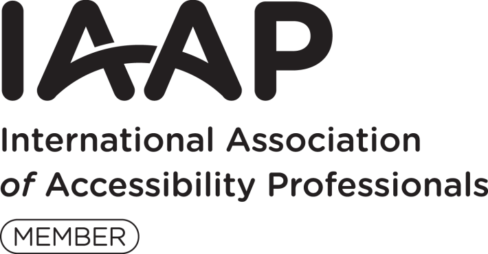 International Association of Accessibility Professionals Member logo