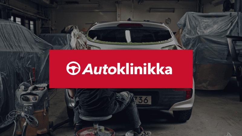 Autoklinikka company logo