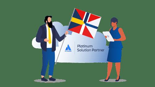 Eficode blir nå Atlassian Platinum-partner i nordiske land