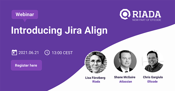 Introducing Jira Align - Enabling the promise of scaling agile