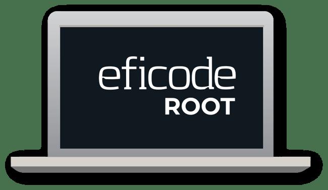 Eficode ROOT webinar laptop