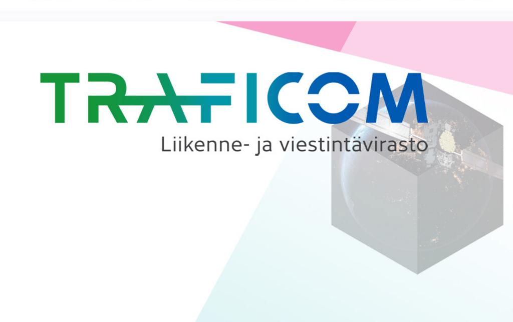 Kuvassa Traficom-logo