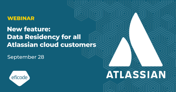 New feature: Data Residency for all Atlassian cloud customers