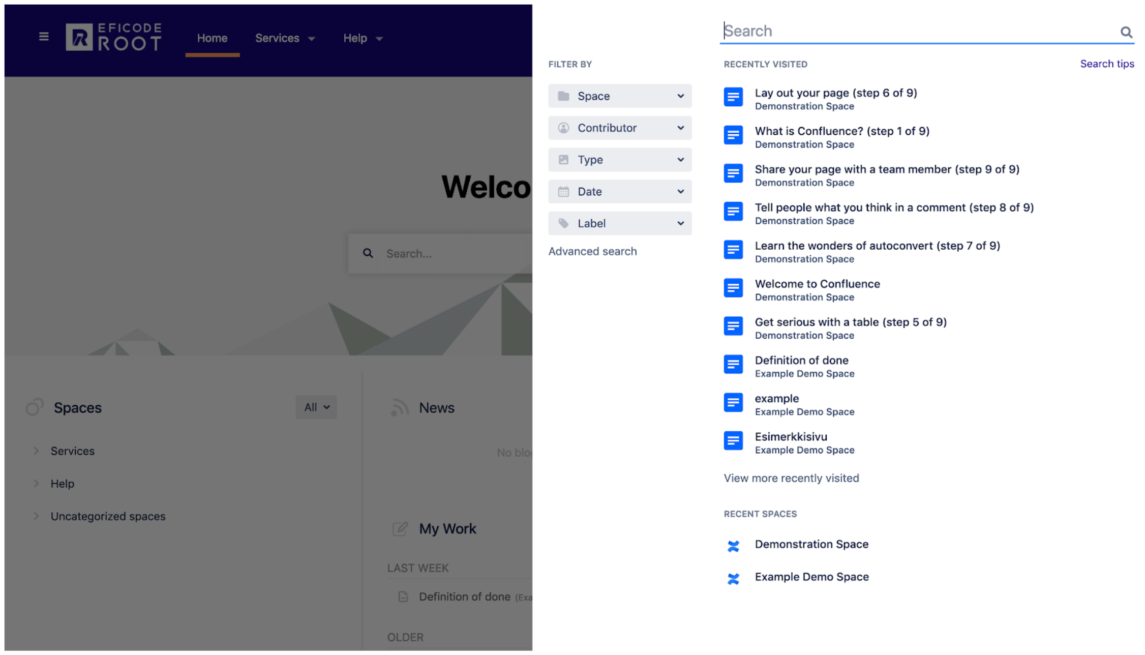 What's new this week? Confluence