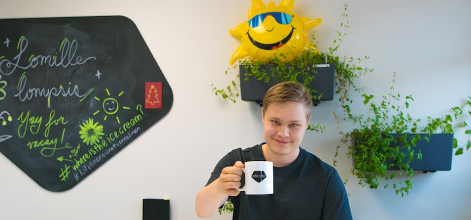 Niklas Halonen became a software engineer by the age of 18.