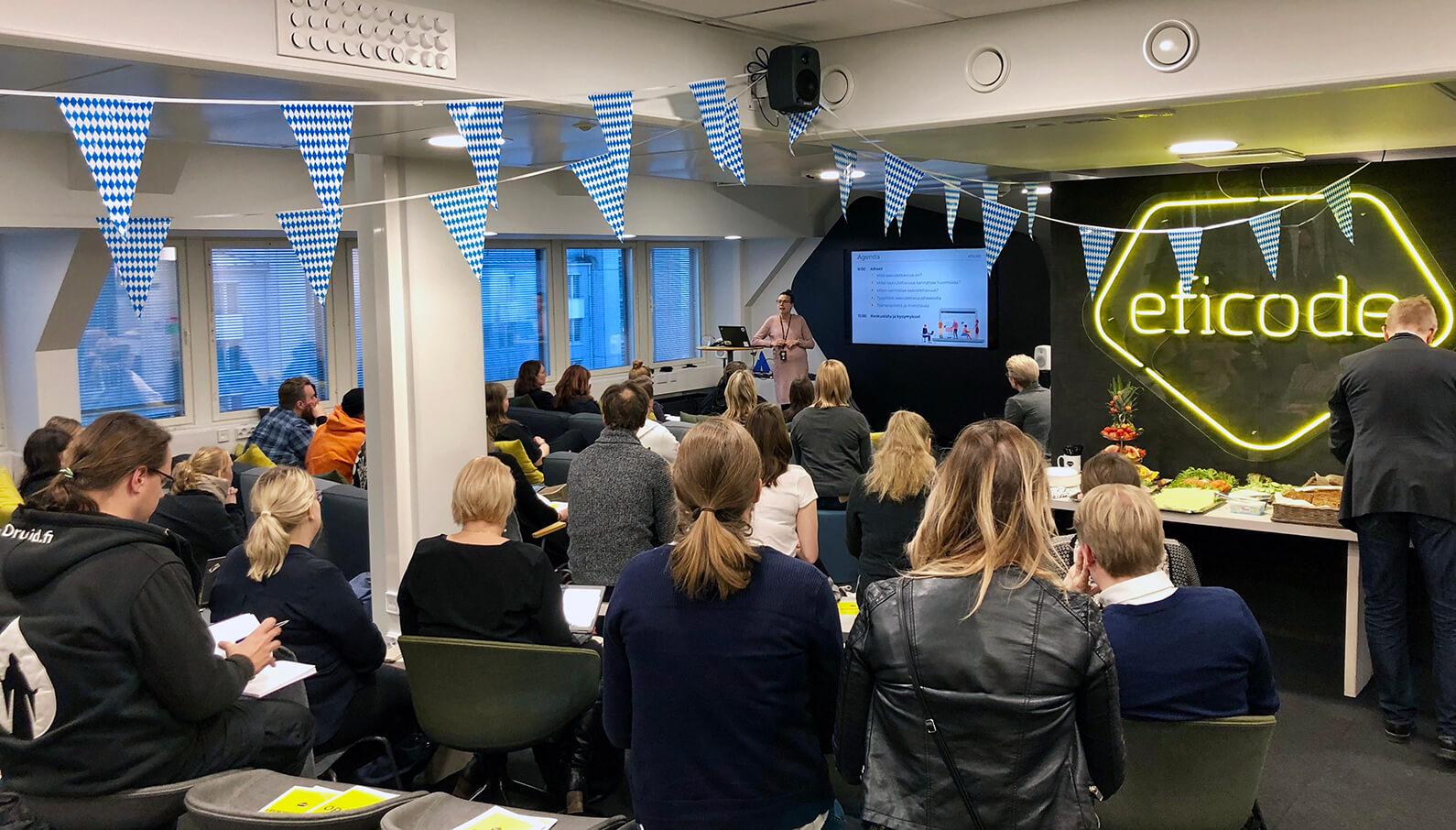 Tervetuloa Eficoden Design Sprint -aamiaiselle 7. maaliskuuta Helsinkiin.