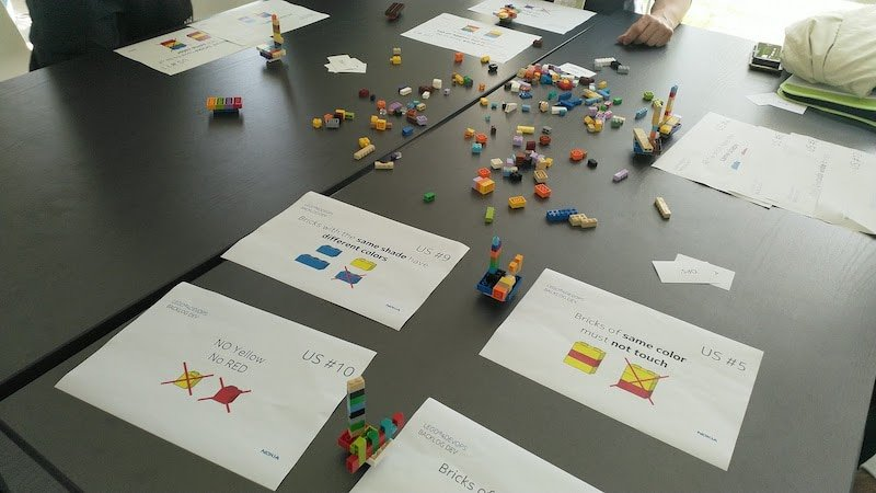 Eficode ran a LEGO®4DEVOPS workshop to teach about DevOps transformations