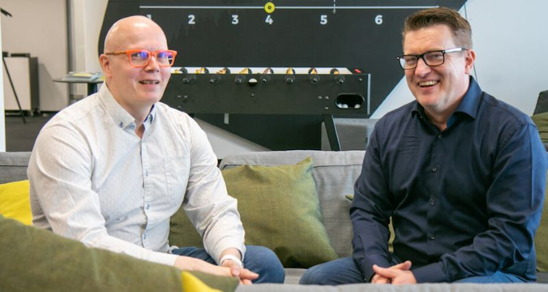 Heikki Hämäläinen is the Head of DevOps and Petteri Ahonen is the Country Manager for German-speaking Europe at Eficode.