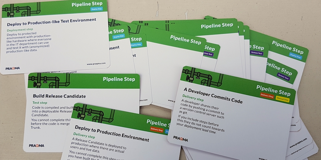 Pipeline Step Cards