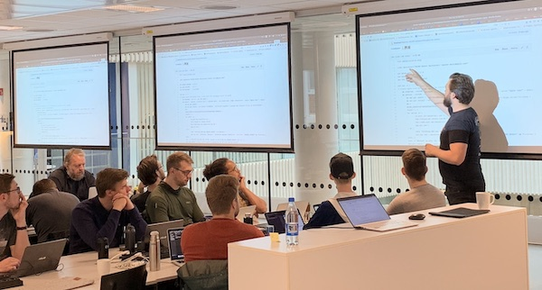 Lego games a the Continuous Delivery Academy in Trondheim