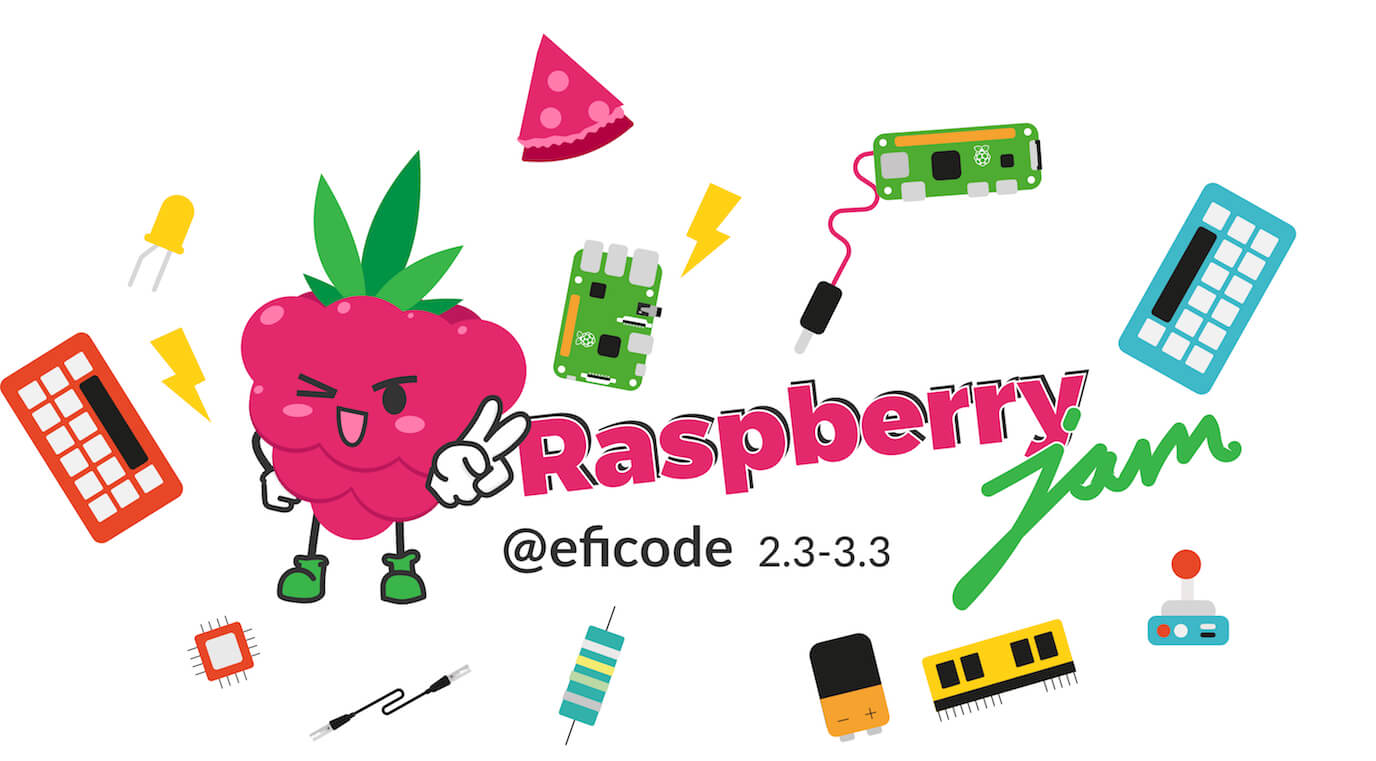 Welcome to Raspberry Jam at Eficode