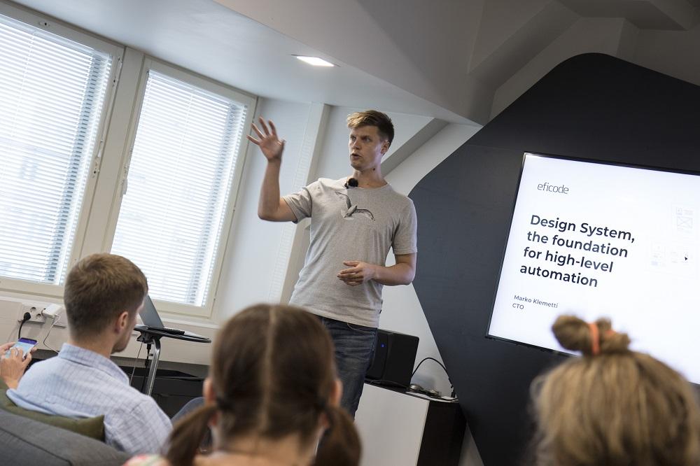 Tervetuloa Eficoden Design System -aamiaiselle 9. toukokuuta Helsinkiin.